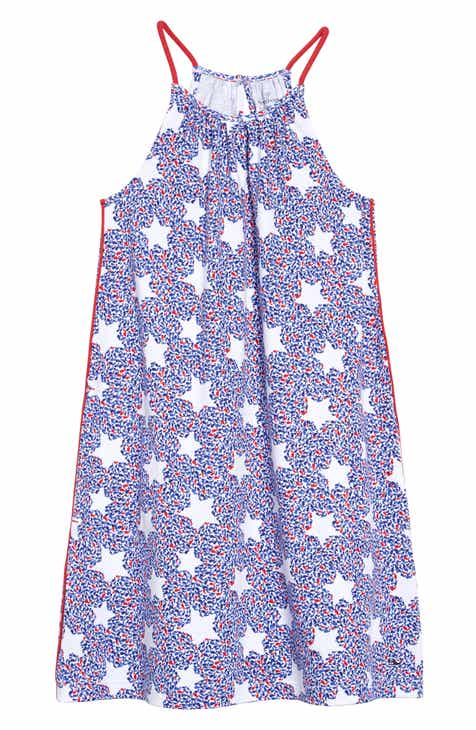 12ea4ee6d342 vineyard vines Whale Star Halter Dress (Little Girls & Big Girls)