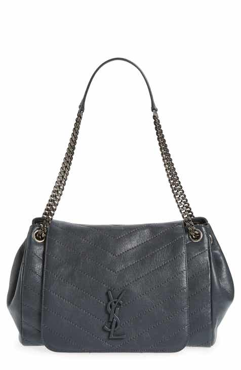 b51697b206 Saint Laurent Medium Nolita Leather Shoulder Bag