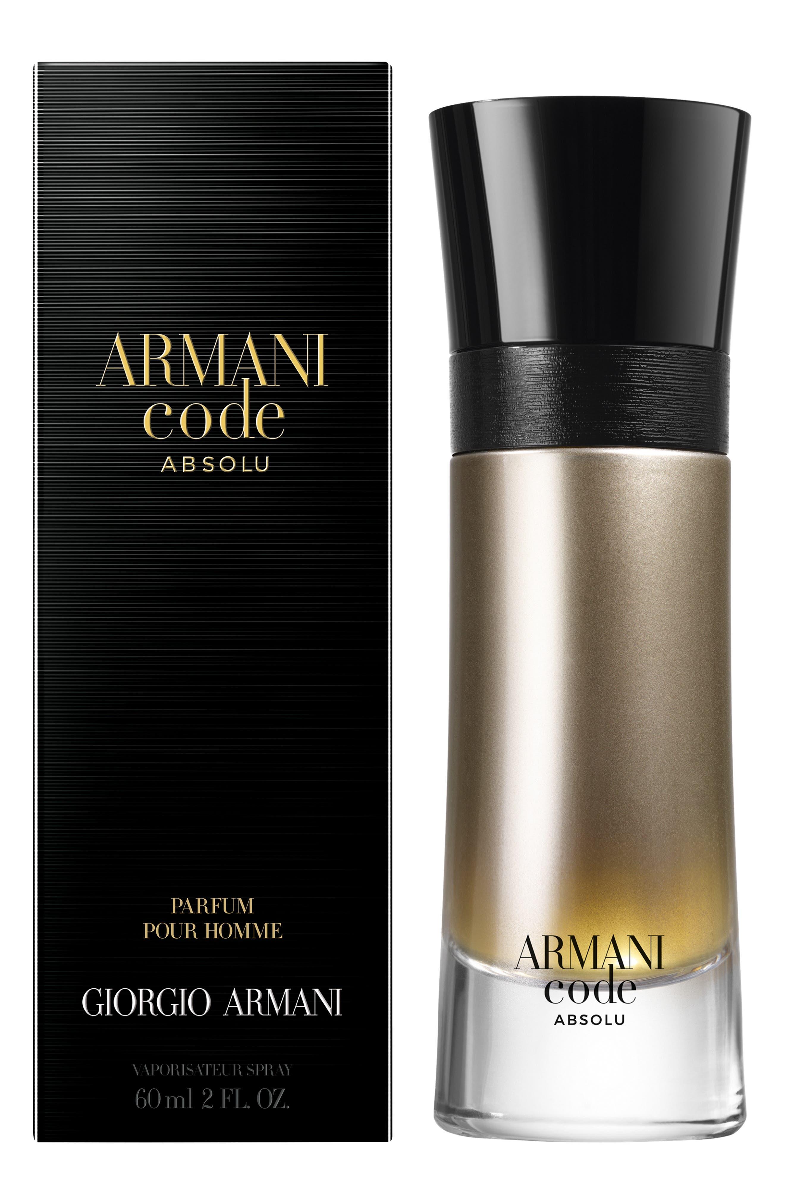 perfume armani black code hombre