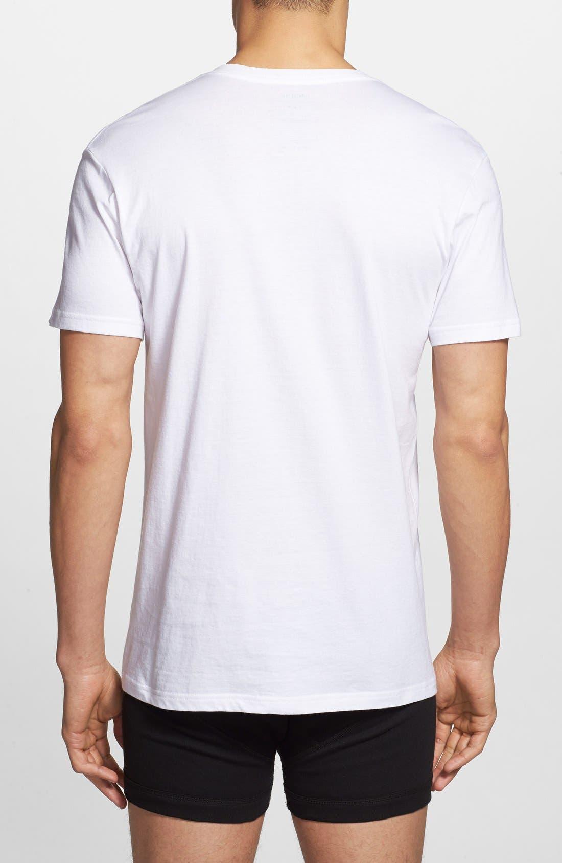 Alternate Image 3  - Polo Ralph Lauren 3-Pack V-Neck T-Shirts