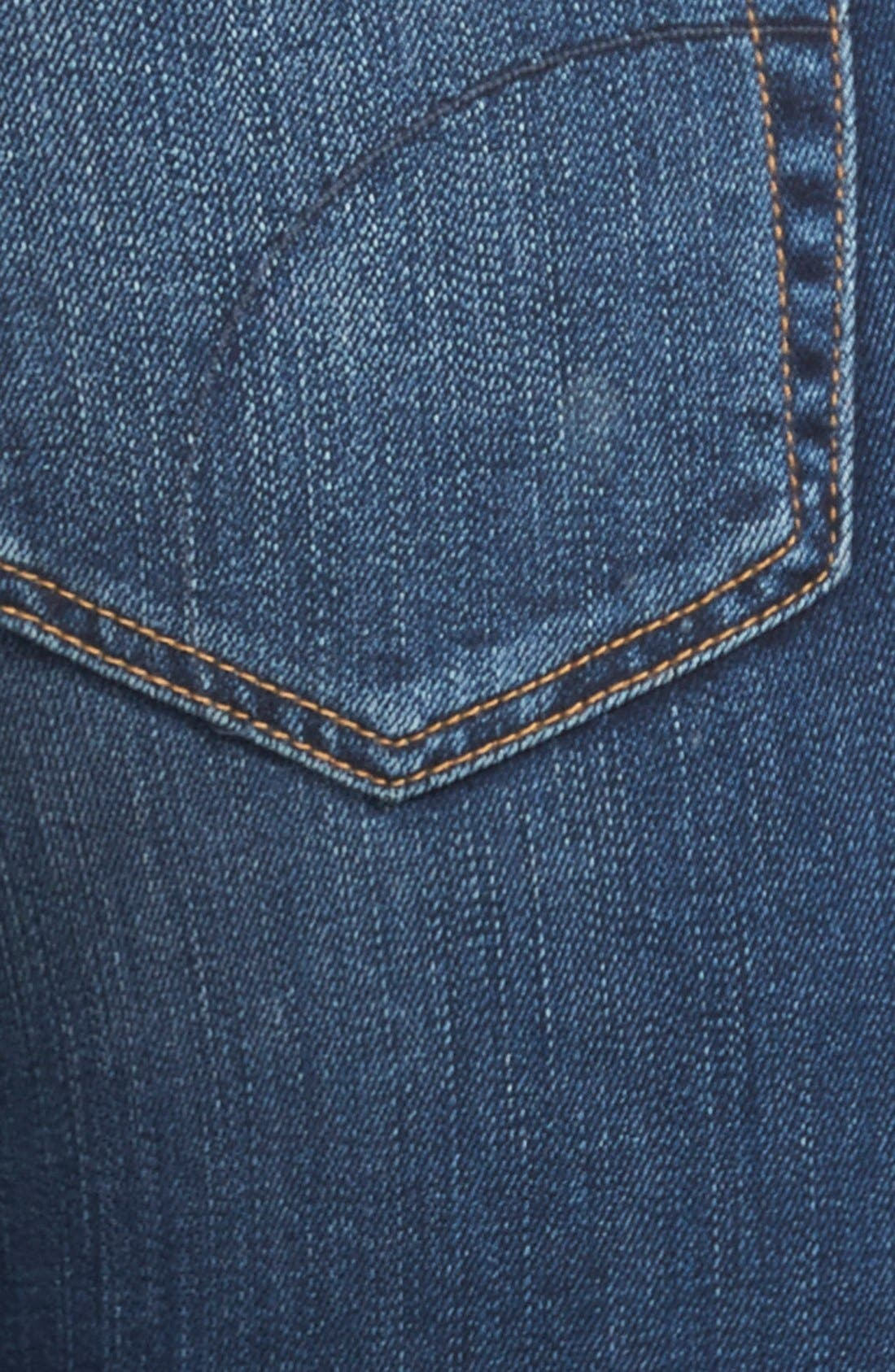 'Flawless - Icon' Flare Jeans,                             Alternate thumbnail 4, color,                             Camilla
