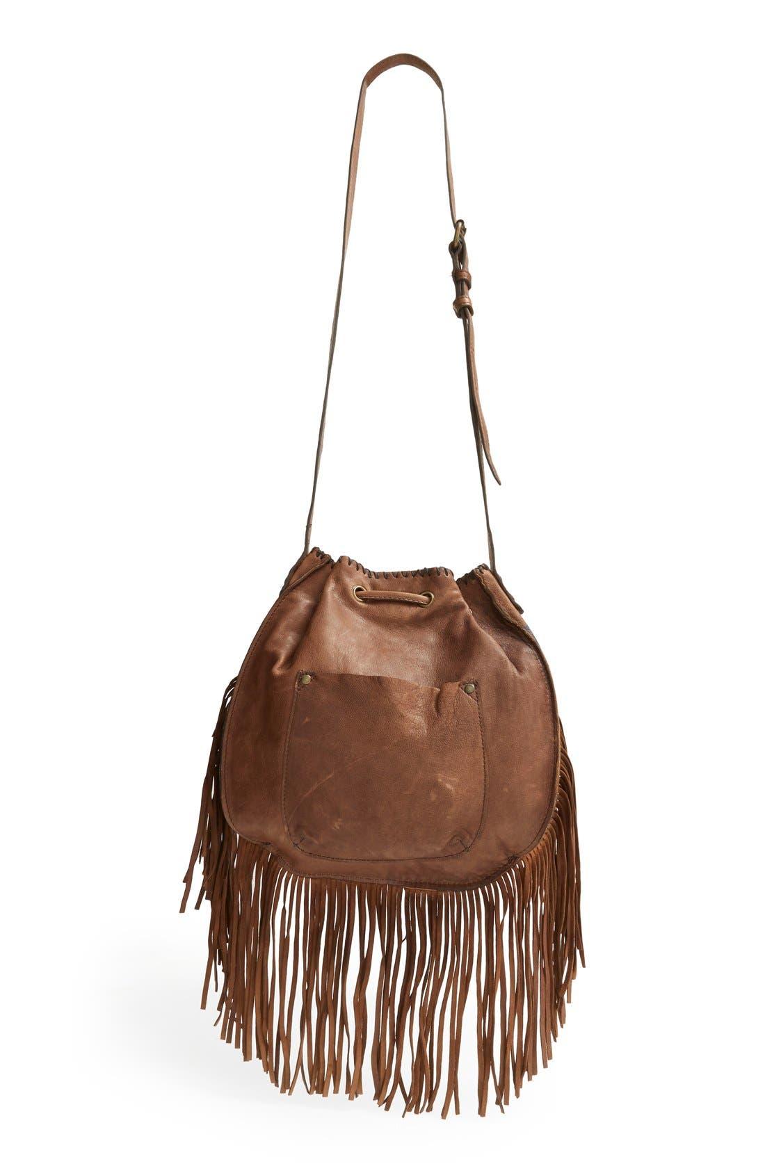 Alternate Image 3  - Patricia Nash 'Carrara' Drawstring Leather Crossbody Bag