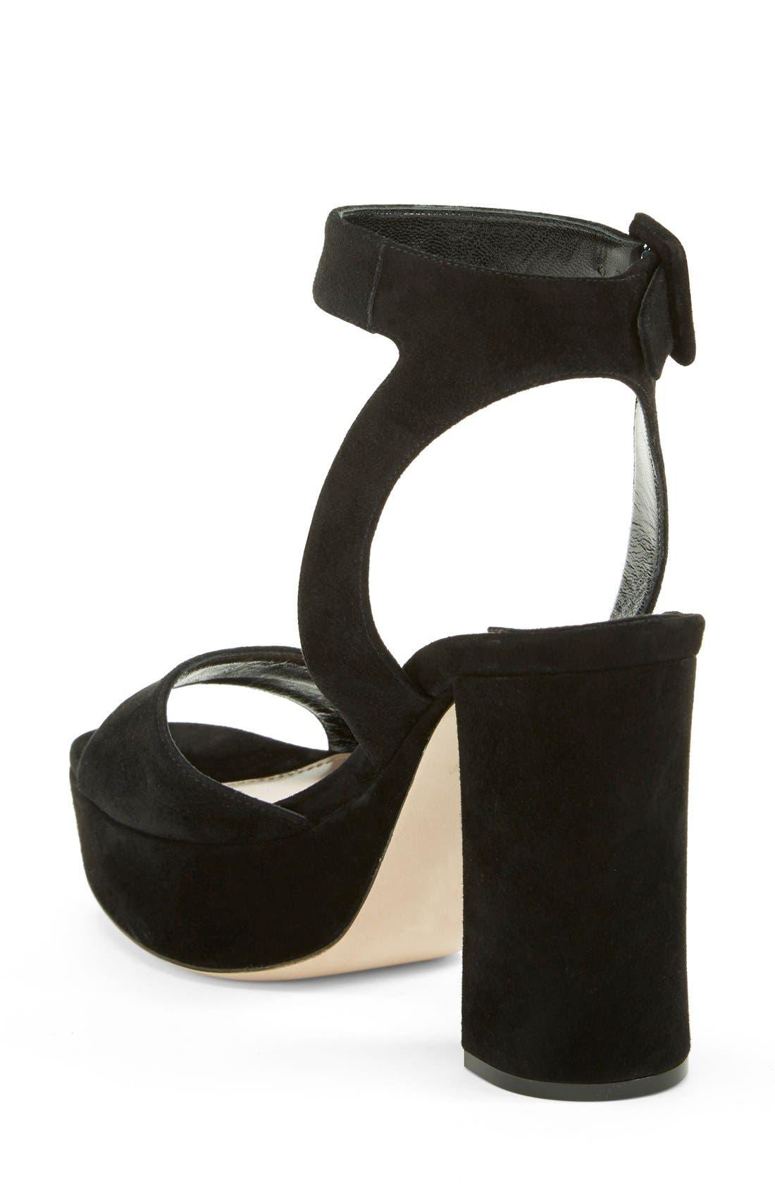 Alternate Image 2  - Miu Miu Block Heel Platform Sandal (Women)