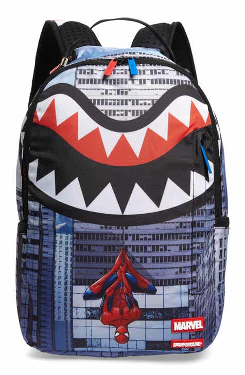 efafdb0d Sprayground Spiderman Upside Down Backpack