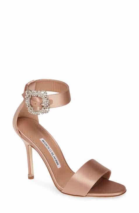 df8175b902bb7 Manolo Blahnik Sanghal Ankle Strap Sandal (Women)