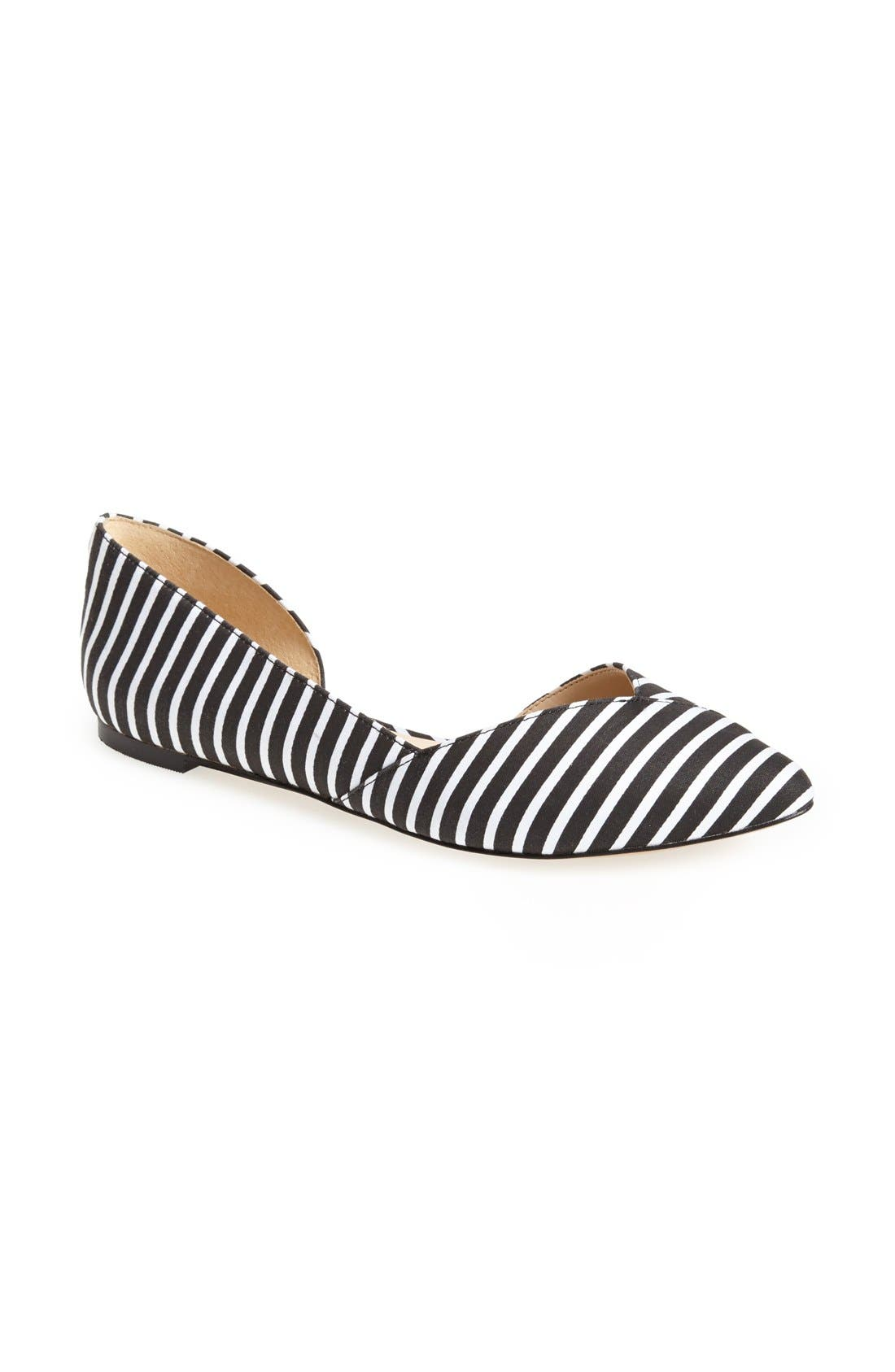Alternate Image 1 Selected - Sole Society 'Danielle' Pointy Toe Flat (Women)