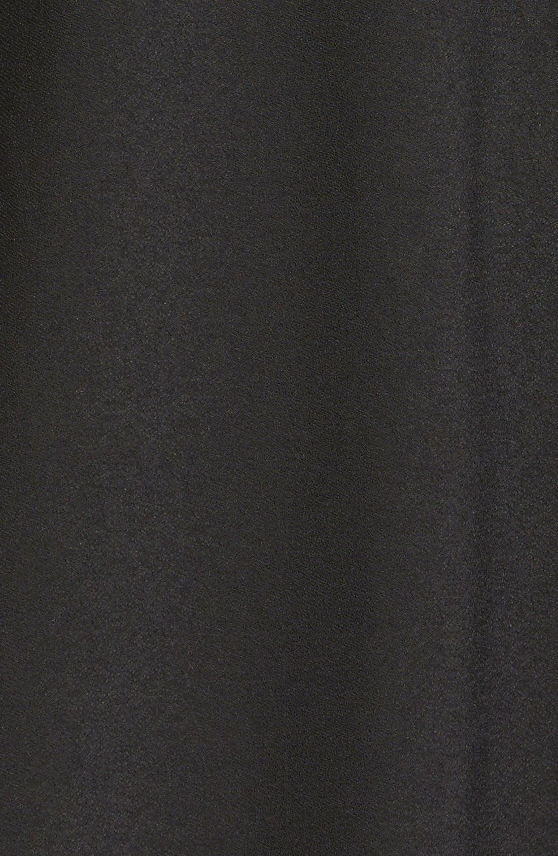 Alternate Image 4  - Leith Crepe Trapeze Dress