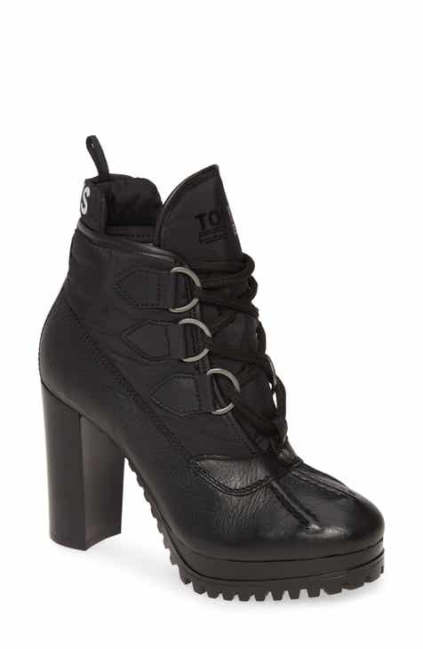 TOMMY JEANS Clarissa Lace-Up Bootie (Women)