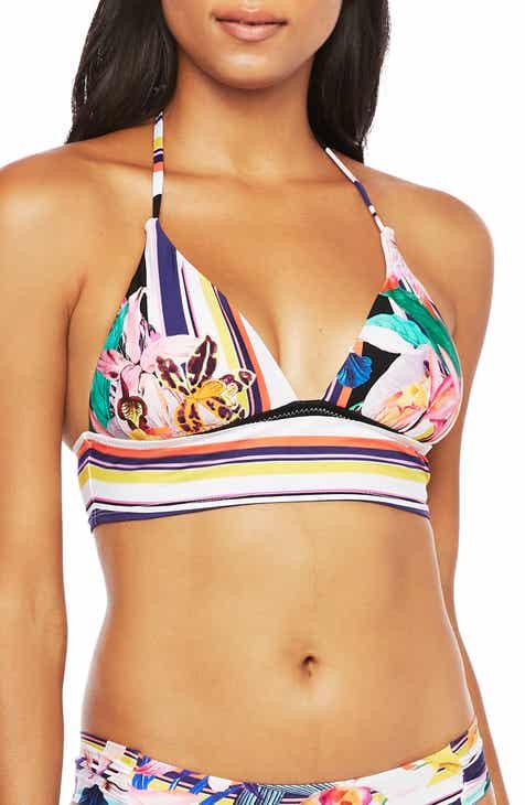Trina Turk Treasure Cove Banded Bikini Top