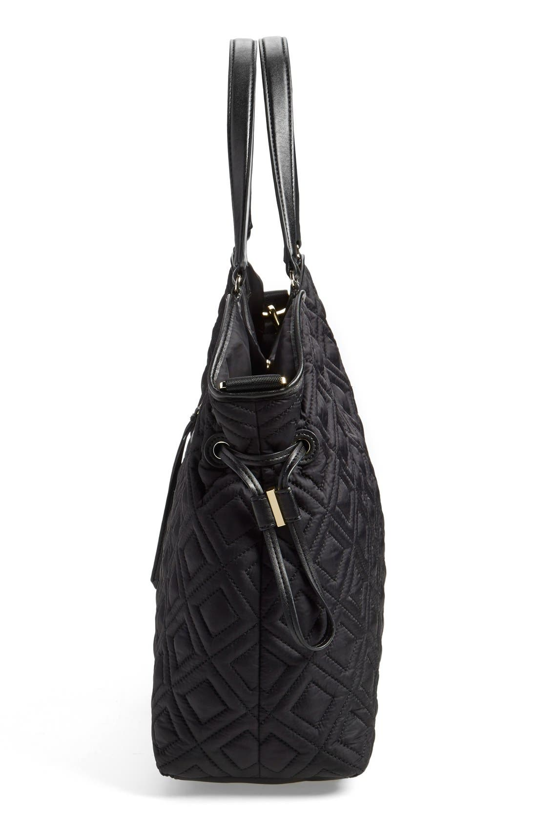 Alternate Image 5  - Tory Burch Quilted Slouchy Baby Bag