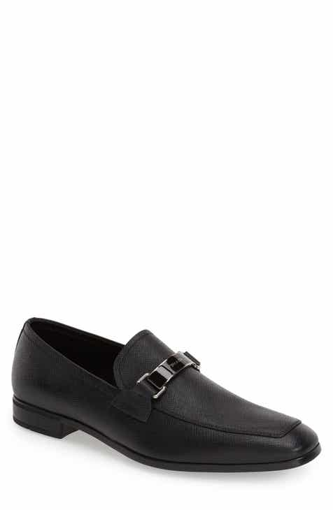 Prada Saffiano Leather Bit Loafer (Men) 6875a4c92e12