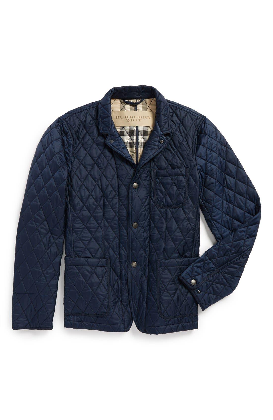Alternate Image 4  - Burberry Brit 'Howe' Quilted Jacket