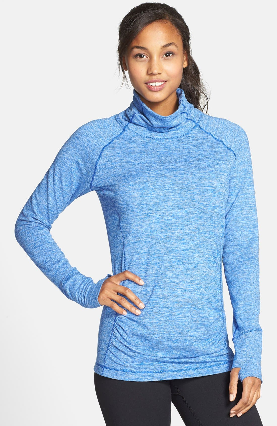 Alternate Image 1 Selected - New Balance Space Dye Knit Pullover