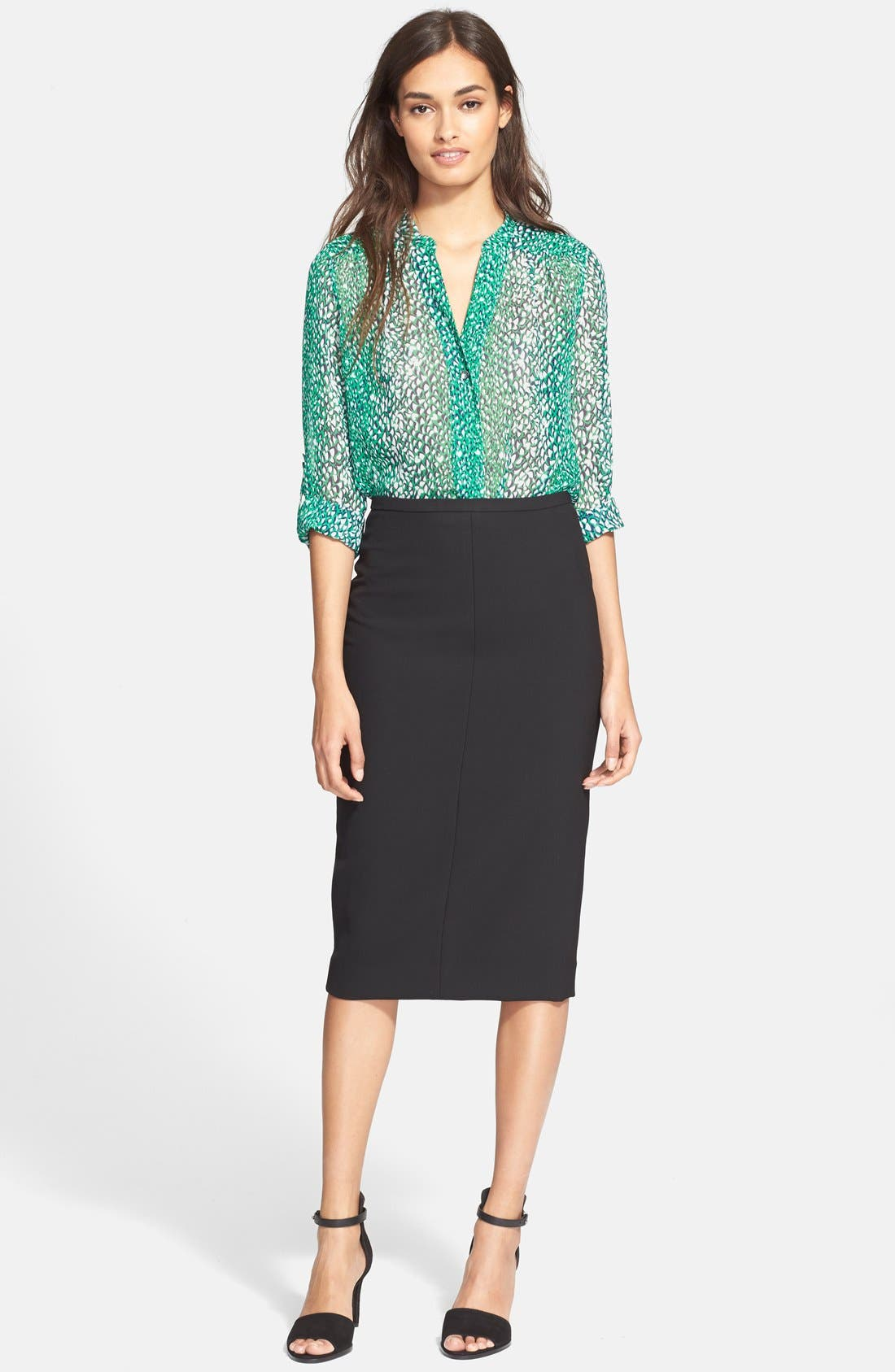 Alternate Image 5  - Diane von Furstenberg 'Samara' Pencil Skirt
