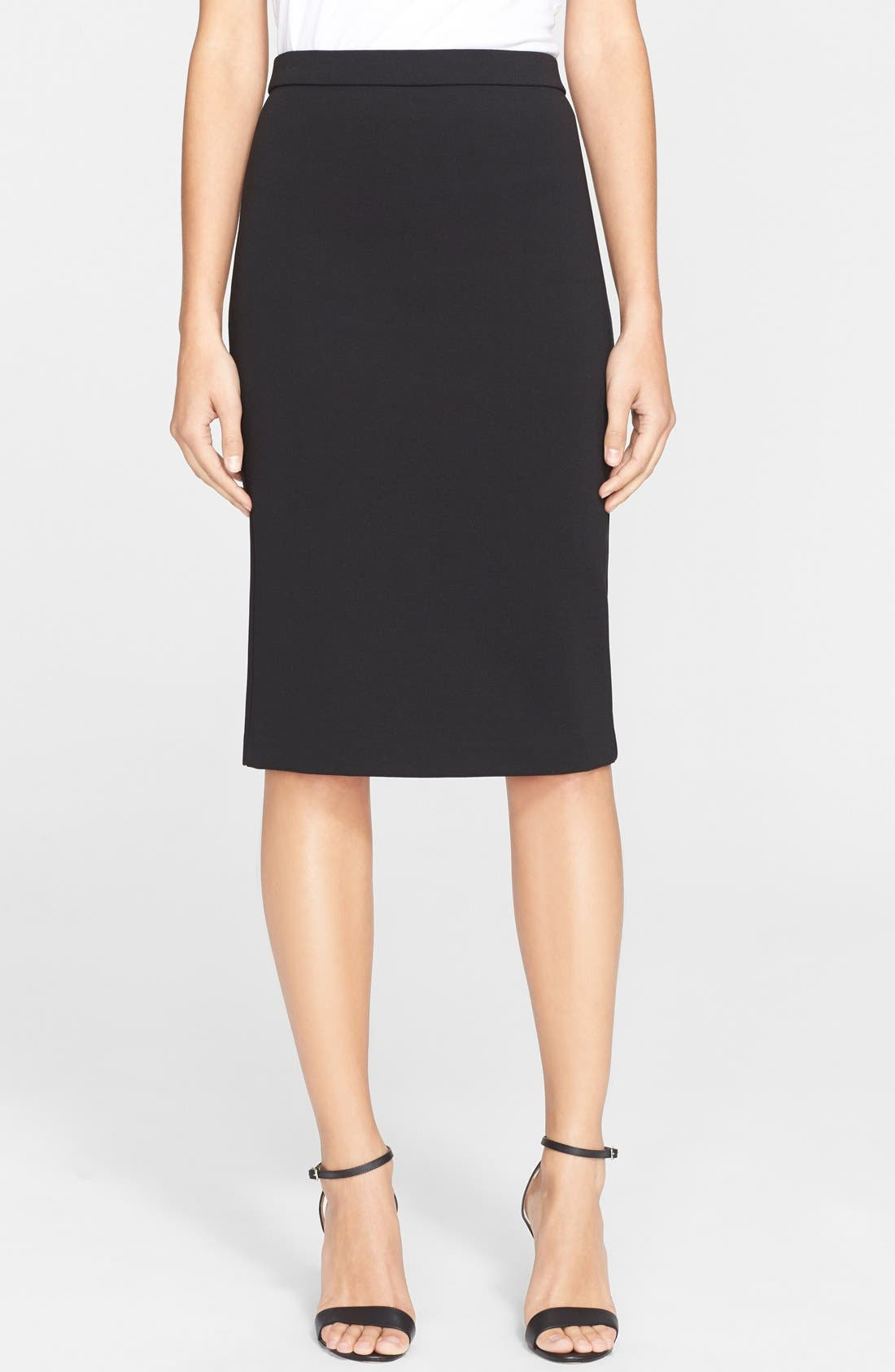 Alternate Image 1 Selected - Theory 'Lijnek' Ponte Knit Pencil Skirt