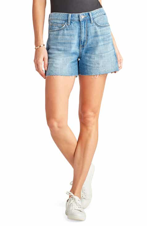 Sam Edelman The Stiletto Raw Hem Cutoff Denim Shorts (Zariyah)