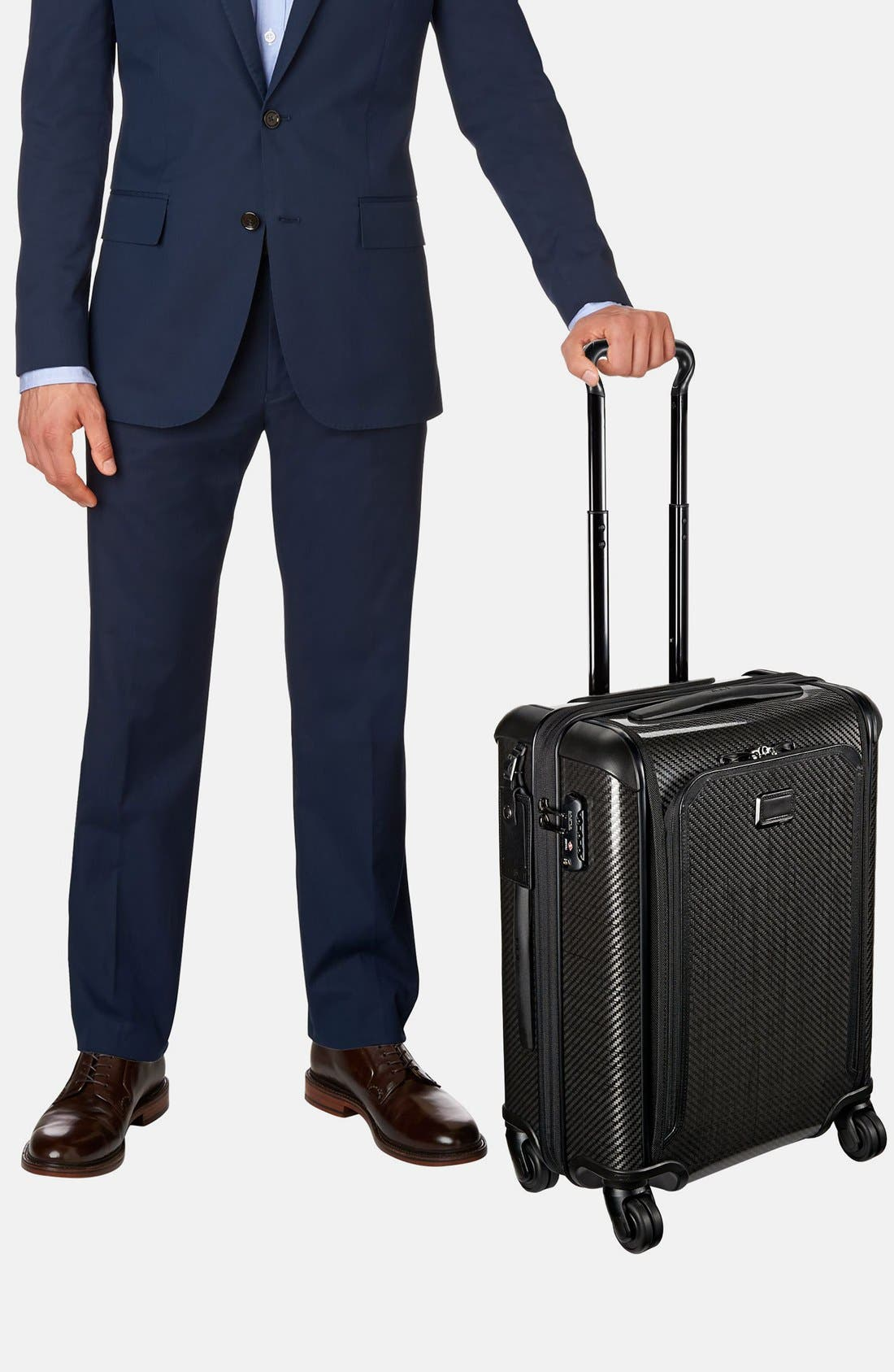 Tegra-Lite<sup>®</sup> Max 22-Inch Continental Expandable Carry-On,                             Alternate thumbnail 2, color,                             Black Graphite