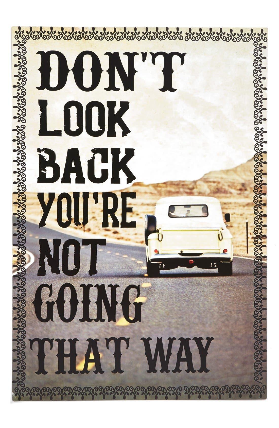 Main Image - Natural Life 'Don't Look Back' Print