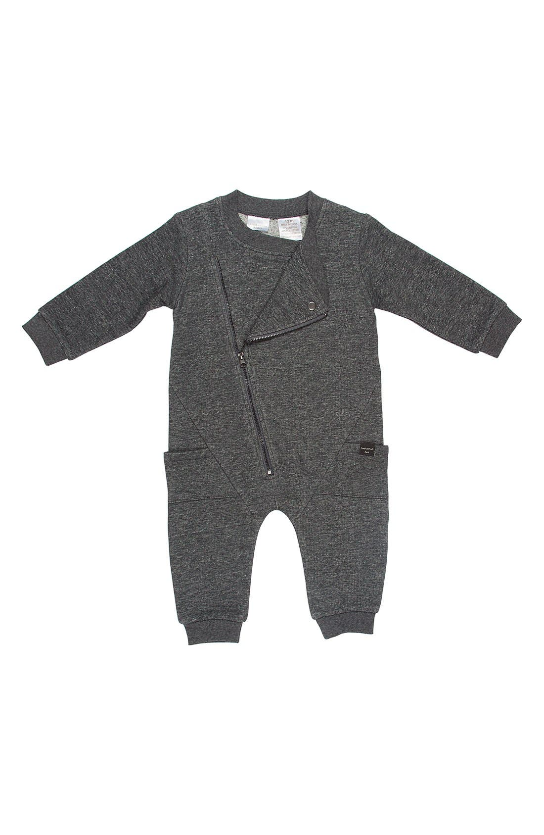 Motorcycle Coveralls,                         Main,                         color, Grey