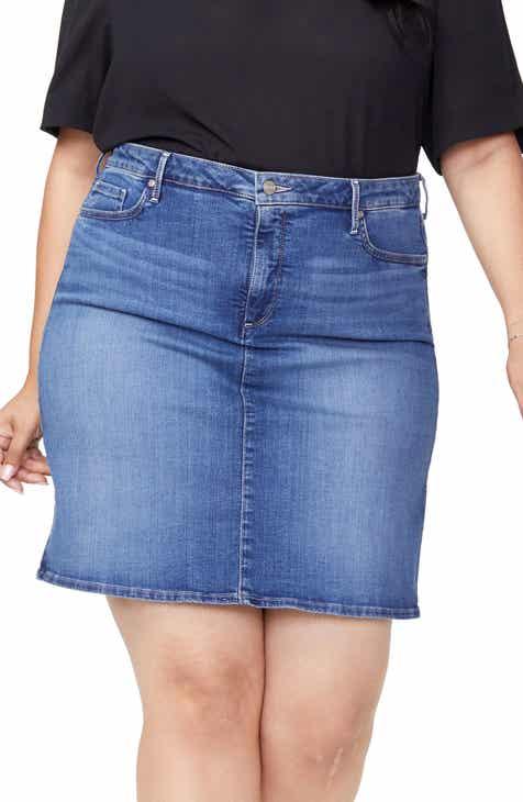 NYDJ Denim Skirt (Plus Size)