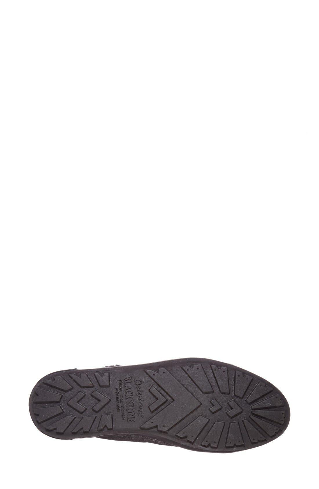 'JL' High Top Sneaker,                             Alternate thumbnail 4, color,                             Black Metallic