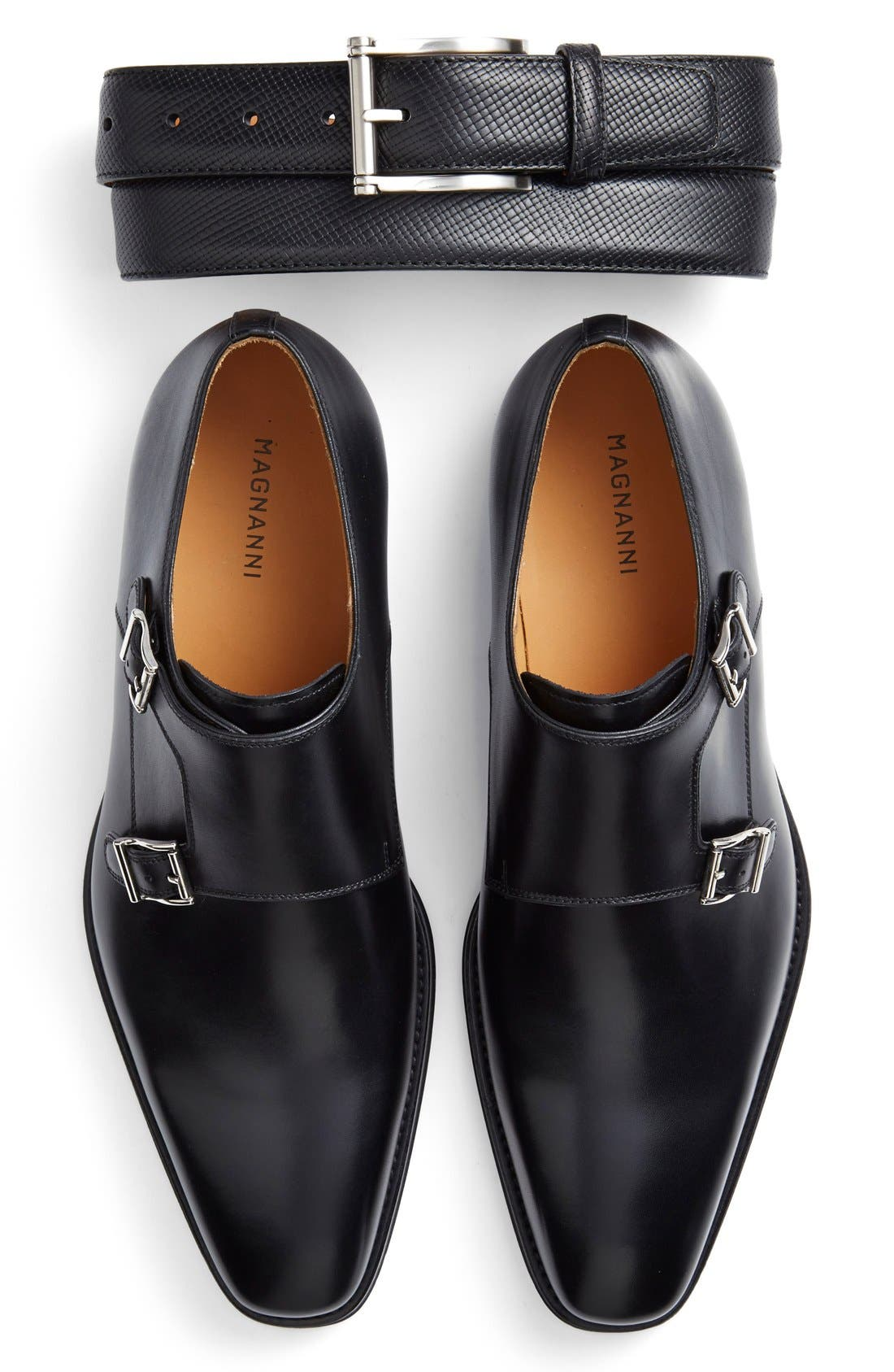 Alternate Image 2  - Magnanni 'Miro' Double Monk Strap Shoe (Men)