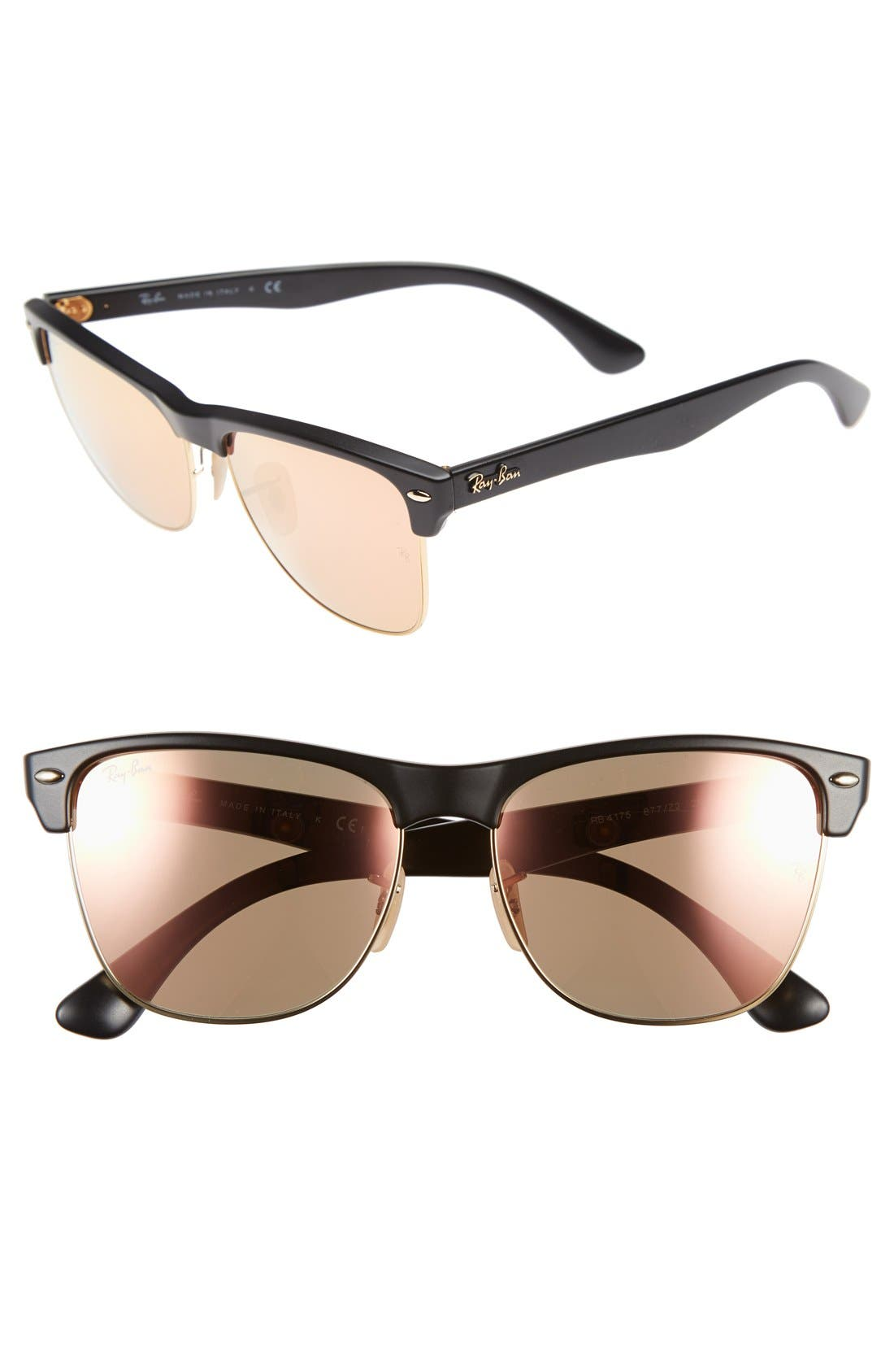 Main Image - Ray-Ban Highstreet 57mm Sunglasses (Nordstrom Exclusive)