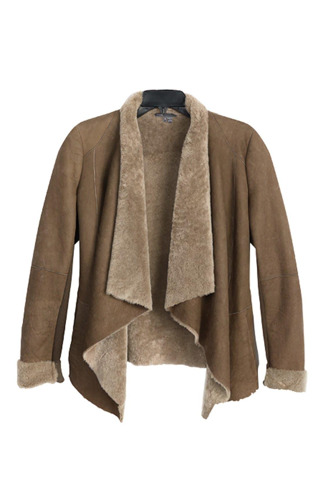 Alternate Image 5  - Vince 'Cascade' Genuine Shearling Jacket