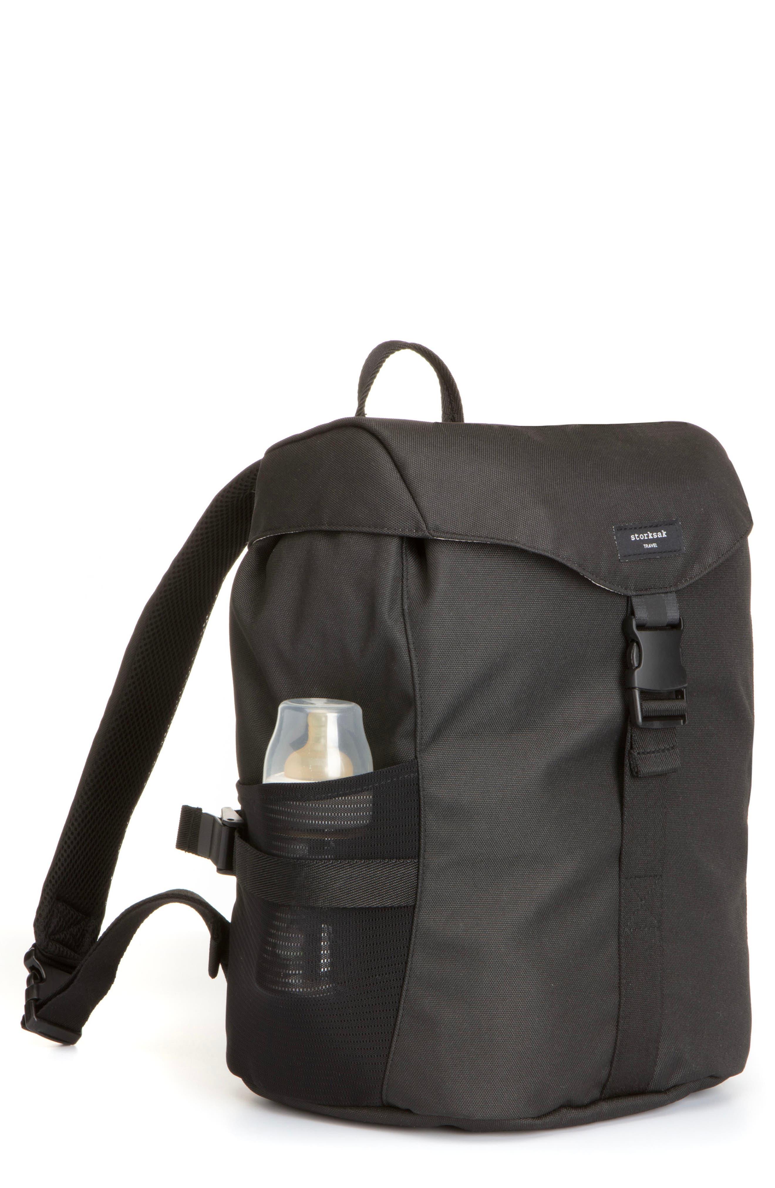 Frankie Valli Novel And Stylish Black Backpack Travel Computer Bag
