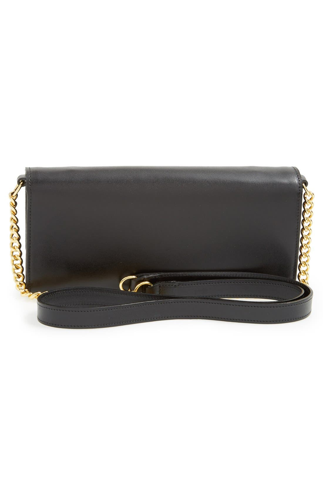 Alternate Image 4  - Longchamp 'Honore' Wallet on A Chain