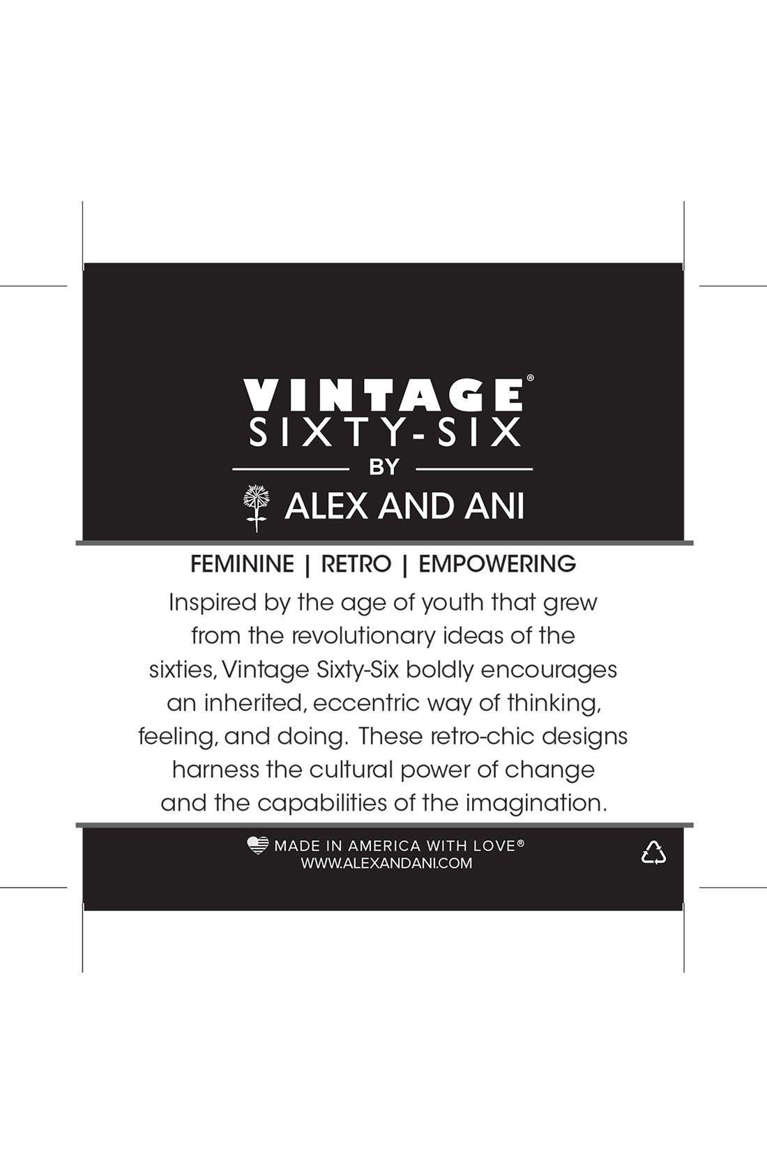 Alternate Image 3  - Alex and Ani 'Vintage 66 - Kingston' Wrap Bracelet