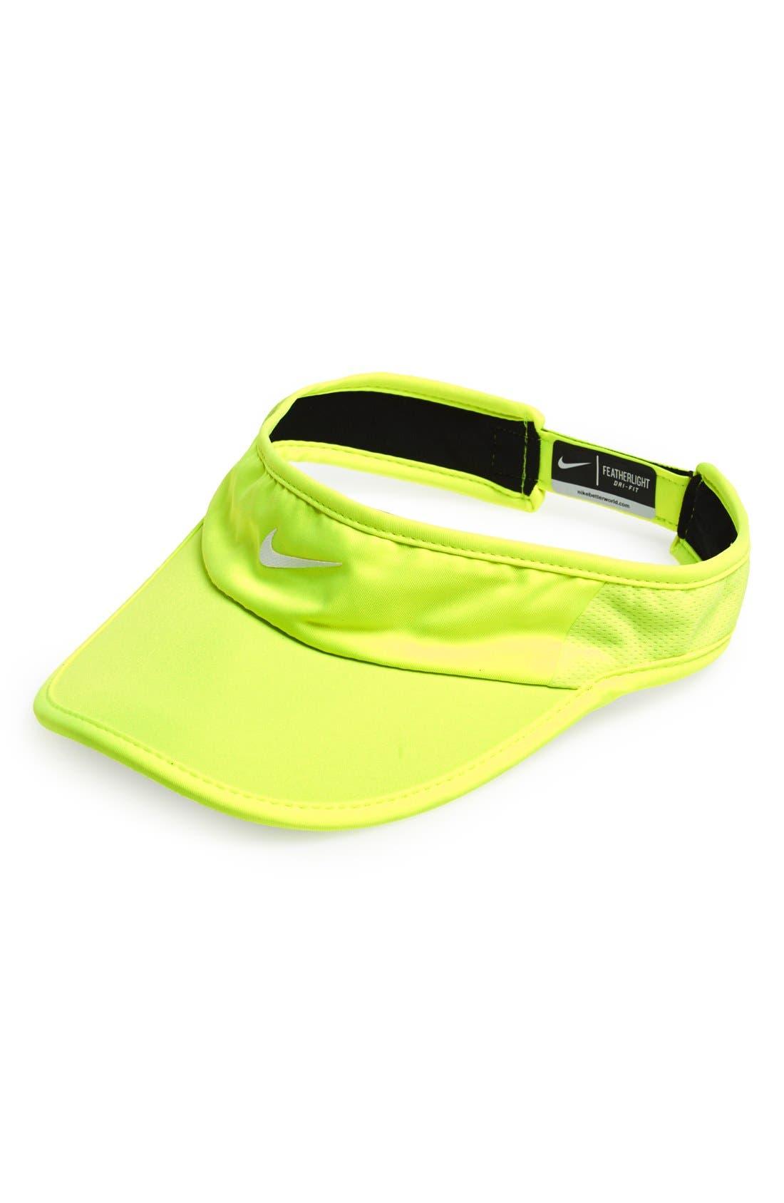 Main Image - Nike 'Feather Light 2.0' Dri-FIT Visor