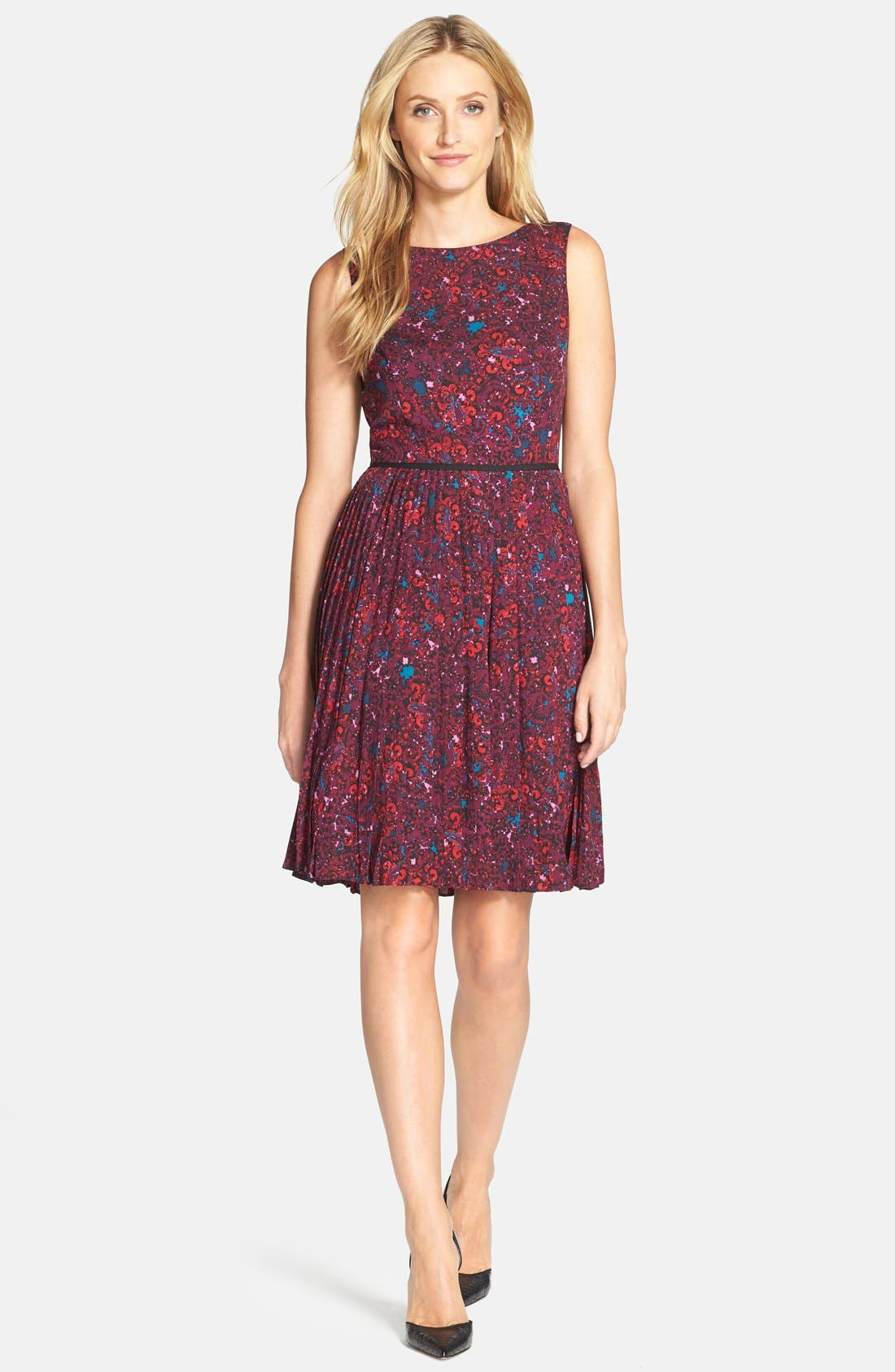 Alternate Image 3  - Adrianna Papell Print Woven Fit & Flare Dress