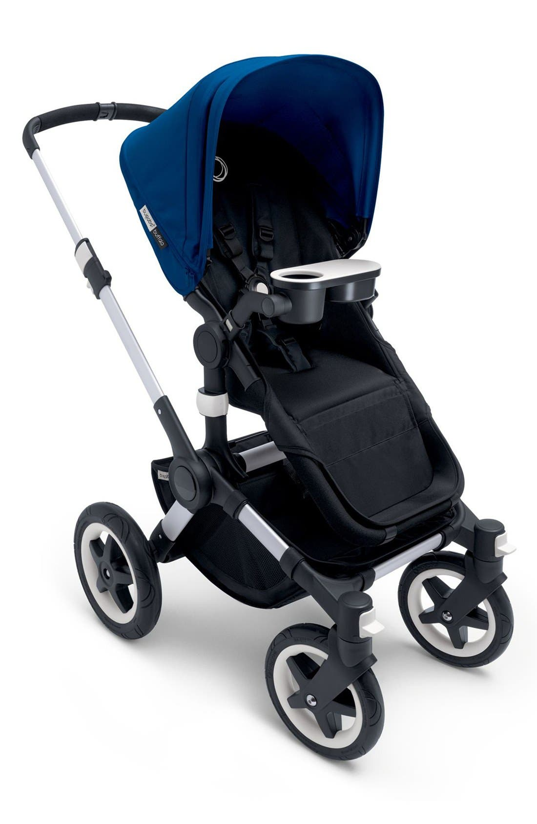'Buffalo' Aluminum Frame Stroller Base,                             Alternate thumbnail 2, color,                             Aluminum/ Black