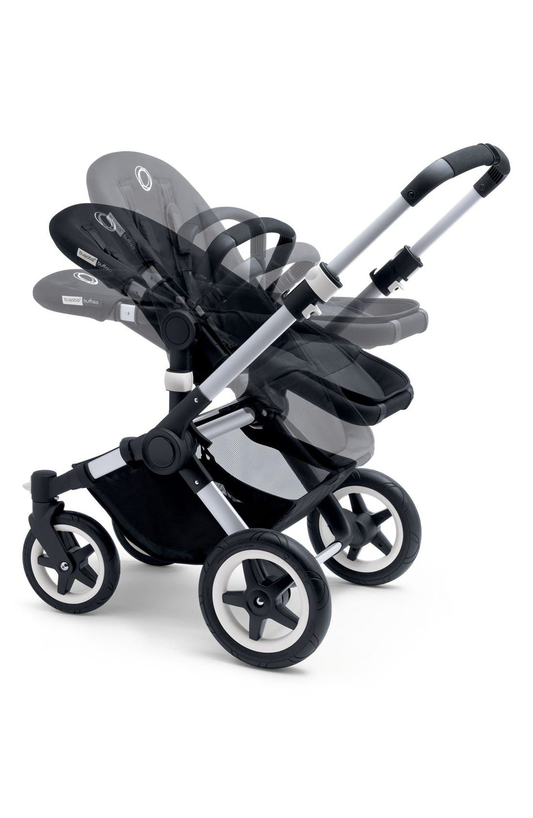 'Buffalo' Aluminum Frame Stroller Base,                             Alternate thumbnail 5, color,                             Aluminum/ Black