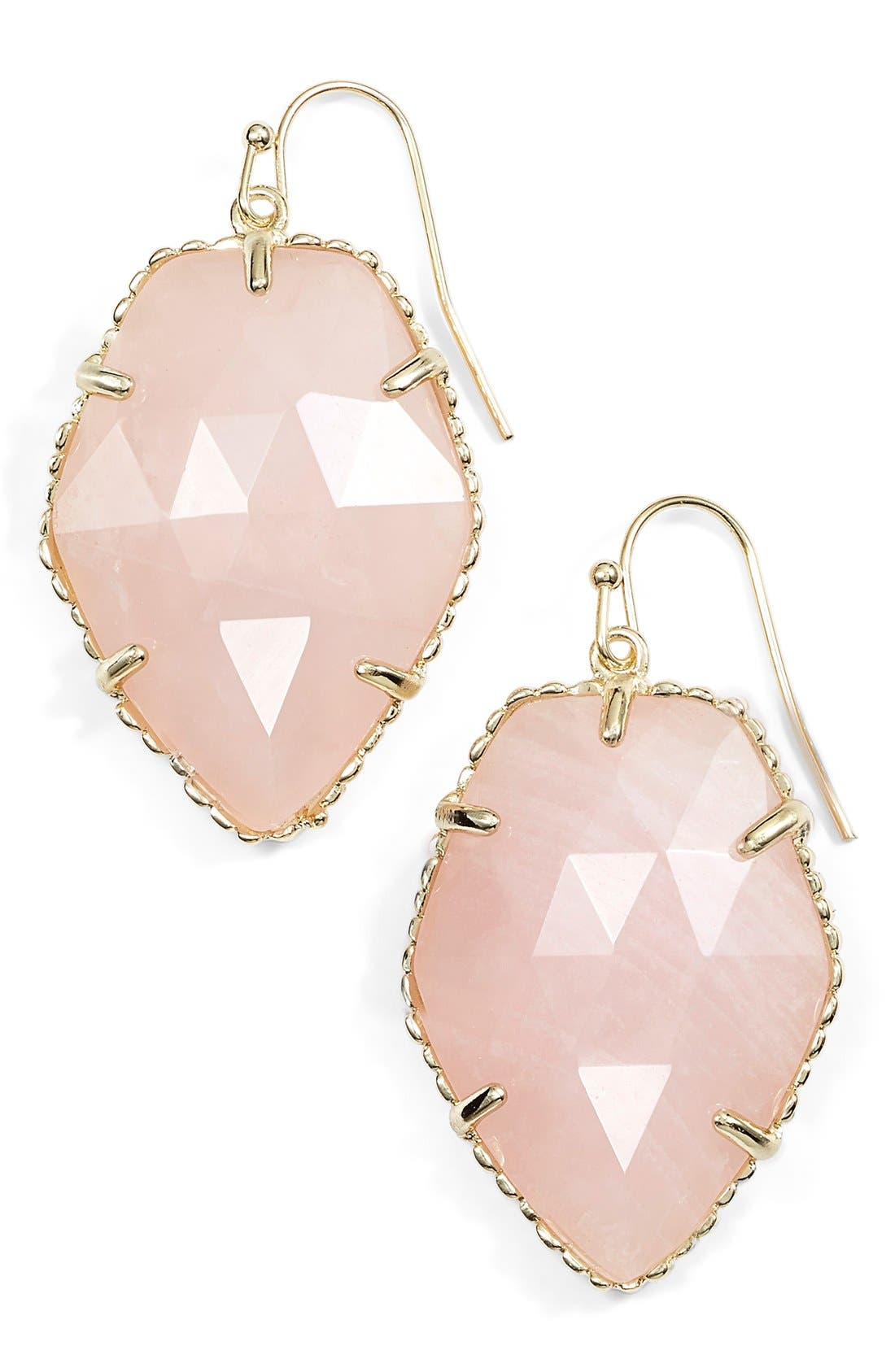 Alternate Image 1 Selected - Kendra Scott 'Corley' Faceted Stone Drop Earrings