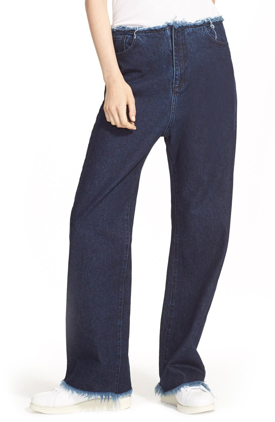 Alternate Image 6  - Marques'Almeida Relaxed Boyfriend Jeans