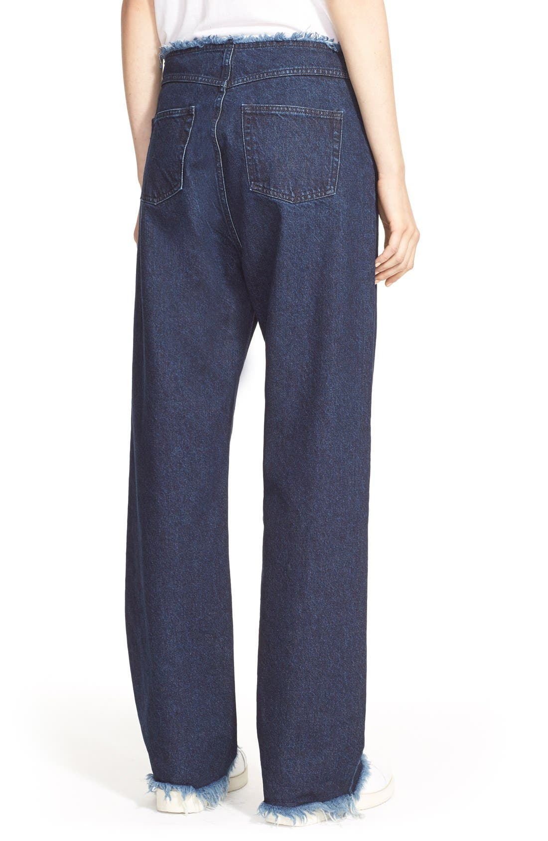 Alternate Image 2  - Marques'Almeida Relaxed Boyfriend Jeans