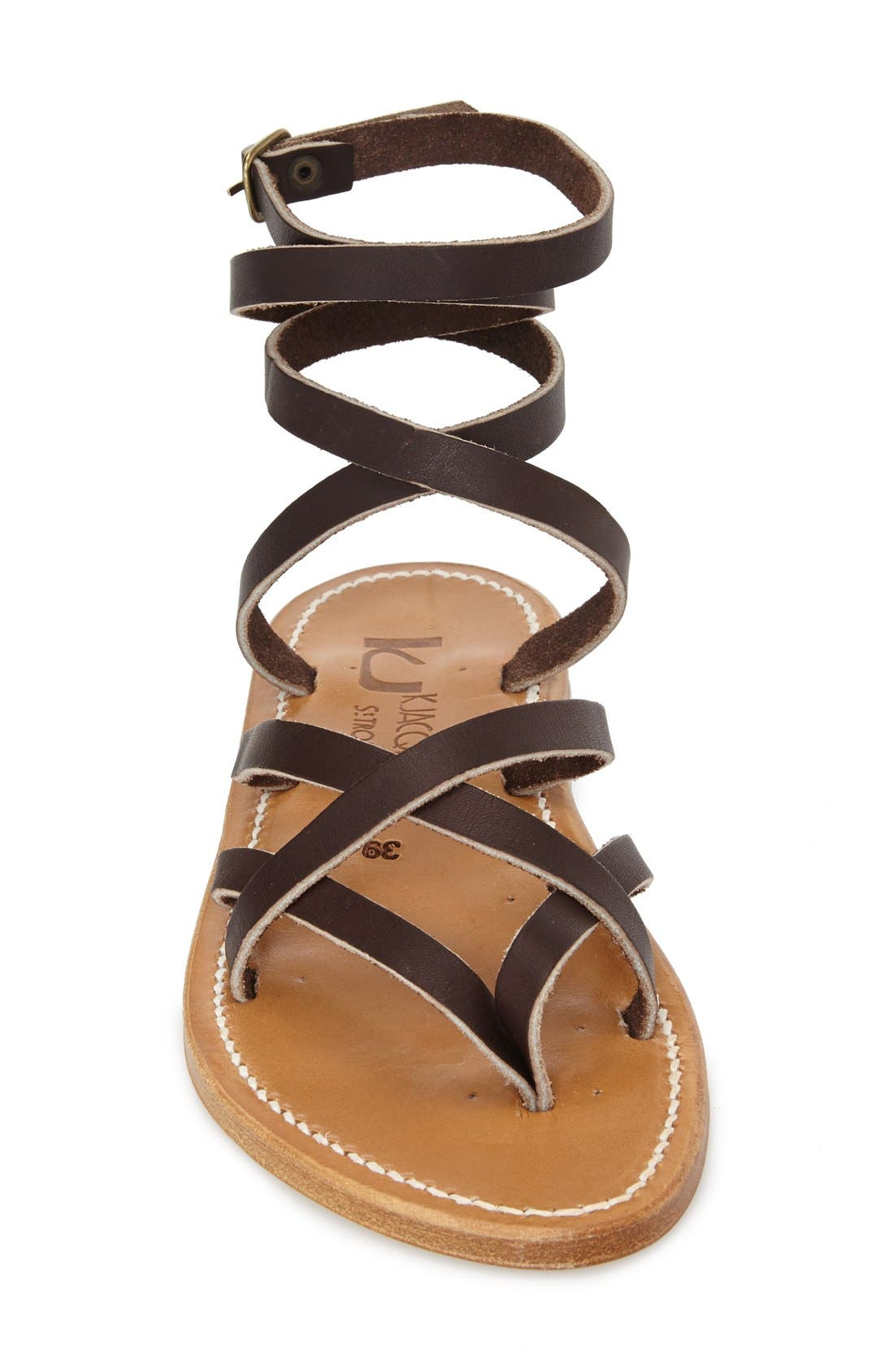 Alternate Image 3  - K.Jacques St. Tropez 'Zenobie' Ankle Wrap Sandal (Women)