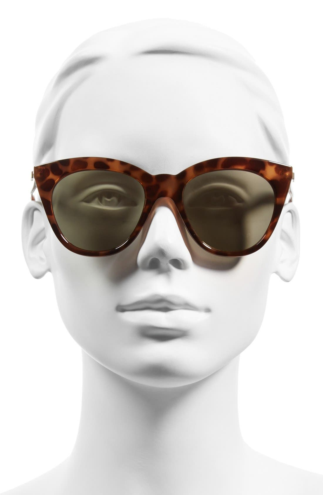 Alternate Image 2  - Le Specs Halfmoon Magic 51mm Cat Eye Sunglasses