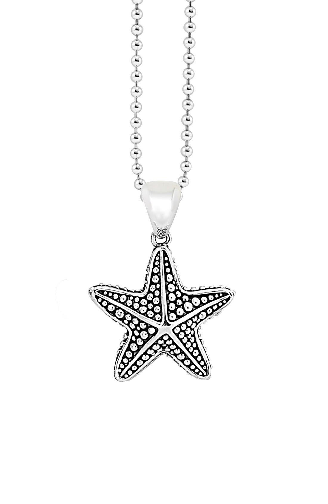 Alternate Image 1 Selected - LAGOS 'Rare Wonders - Starfish' Long Talisman Necklace