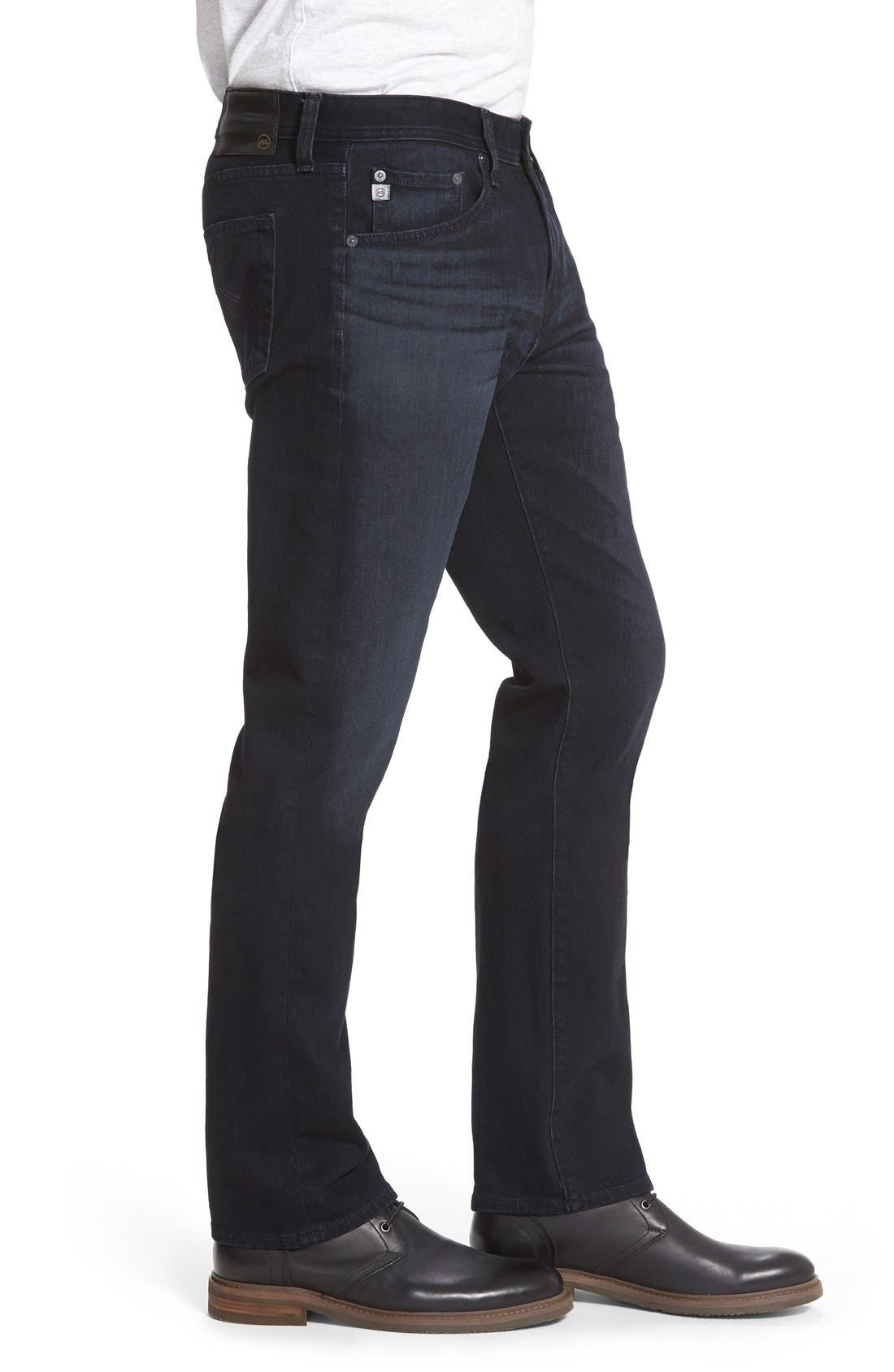 Graduate Slim Straight Leg Jeans,                             Alternate thumbnail 3, color,                             Bundled