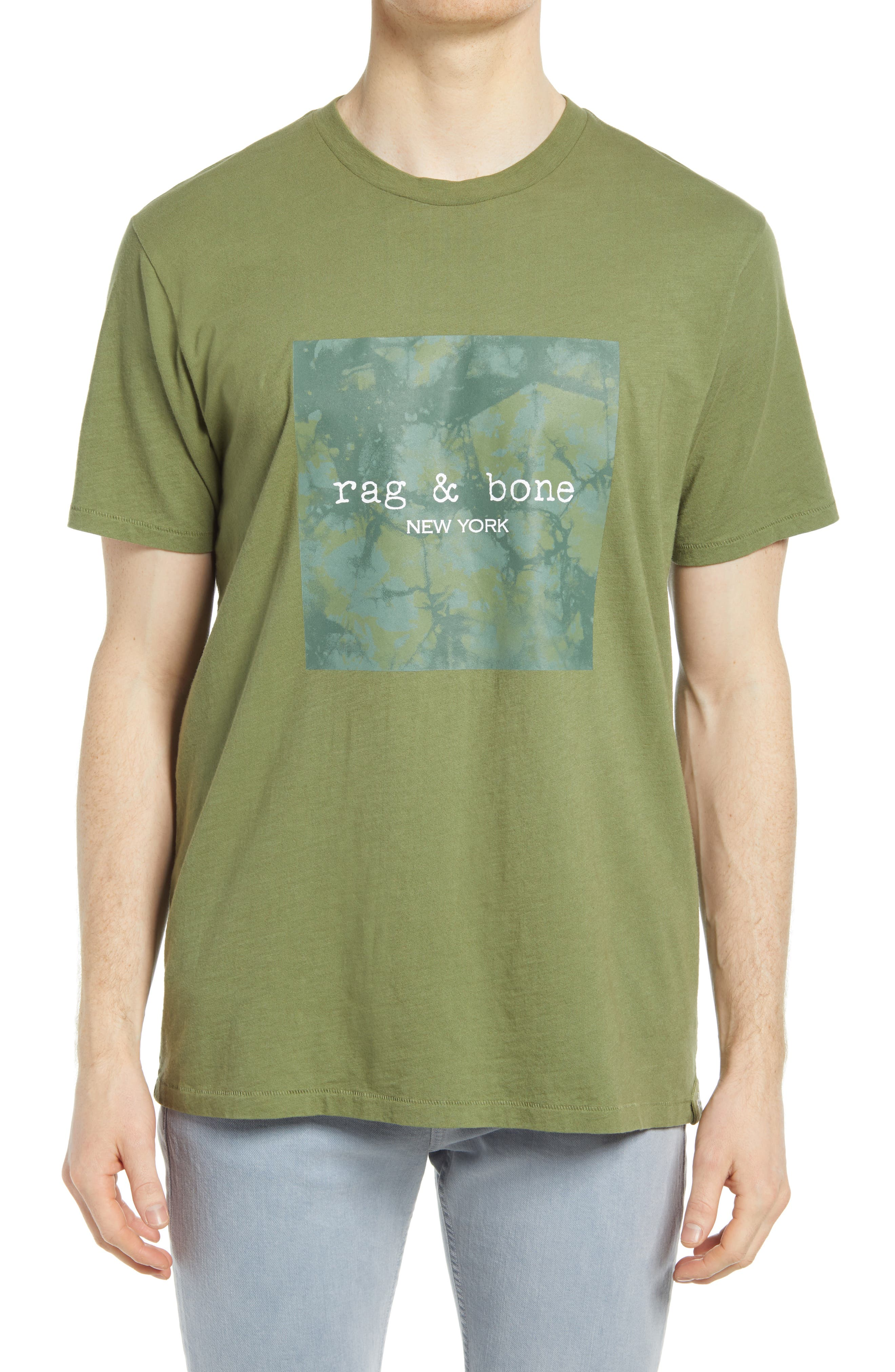 Prince Junior Skyline T-Shirt in Green