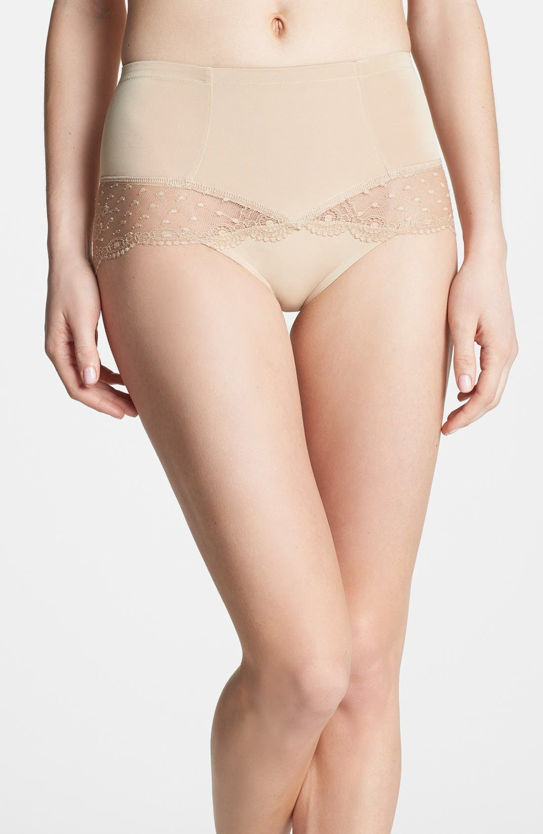 Main Image - DKNY 'Lace Curves' Shaping Briefs (Online Only) (2 for $36)