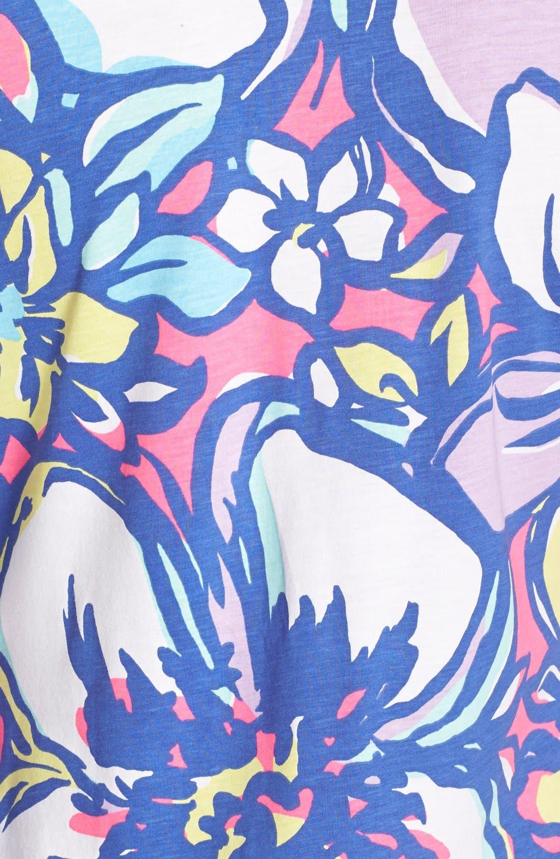 Alternate Image 3  - Lilly Pulitzer® 'Palmetto' Print Button Front Pima Cotton T-Shirtdress
