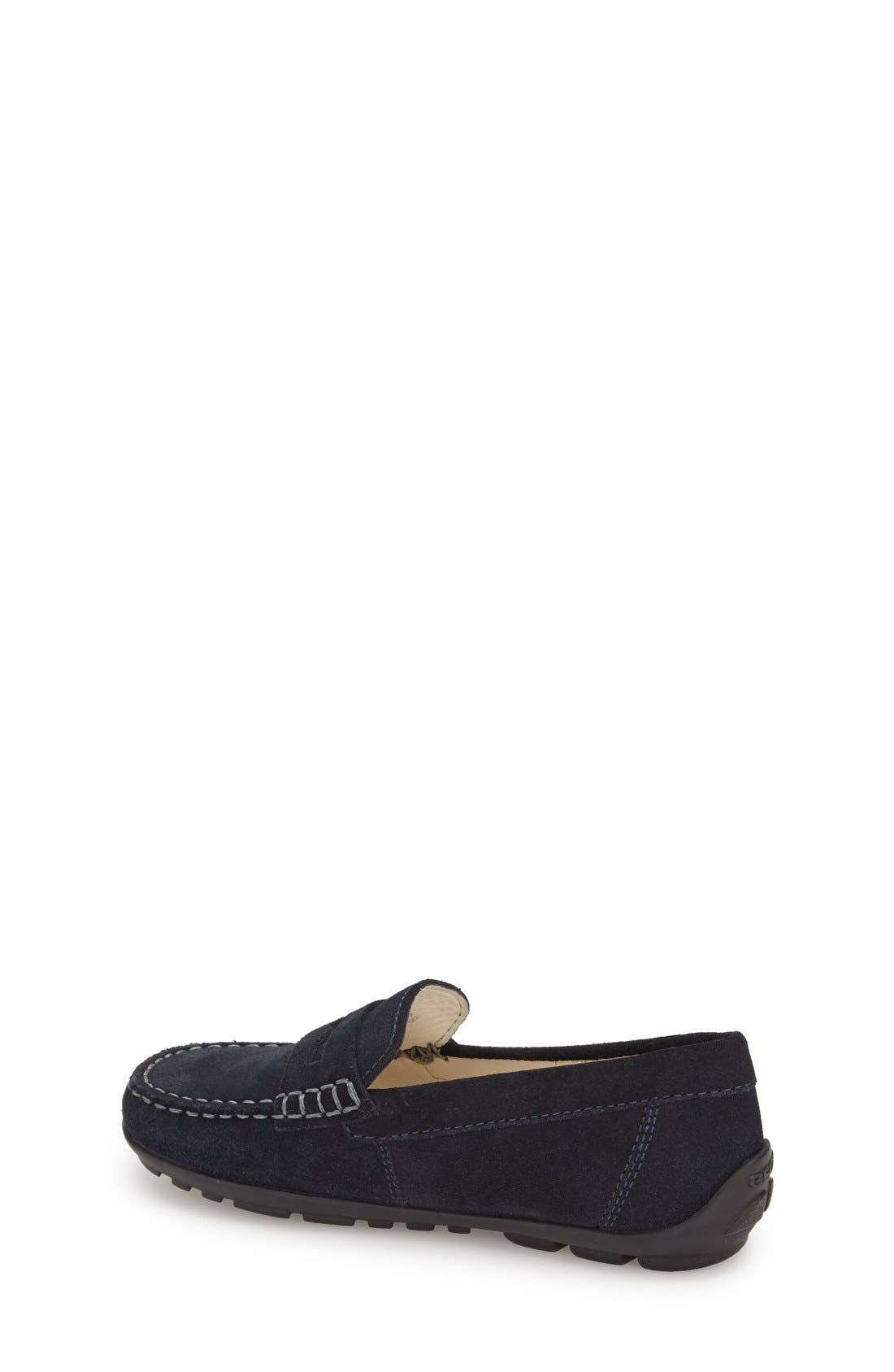'Fast' Penny Loafer,                             Alternate thumbnail 2, color,                             Navy