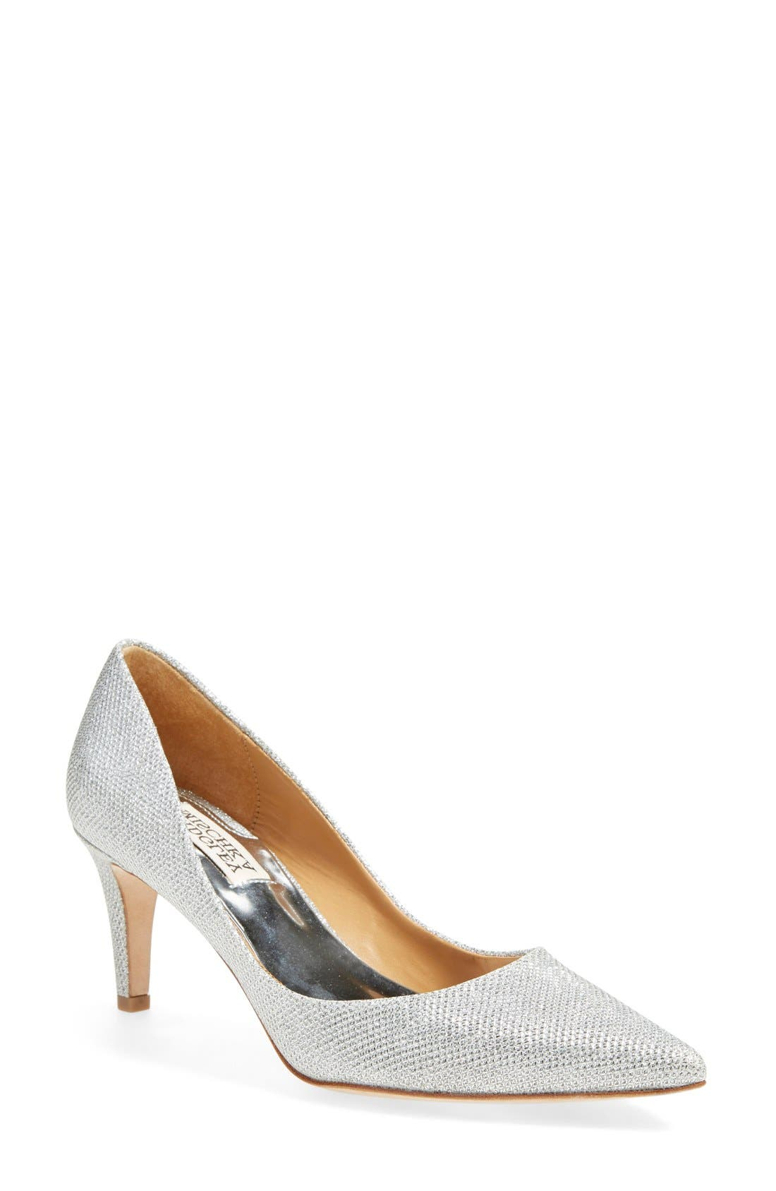 Alternate Image 1 Selected - Badgley Mischka 'Poise' Pointy Toe Pump (Women)