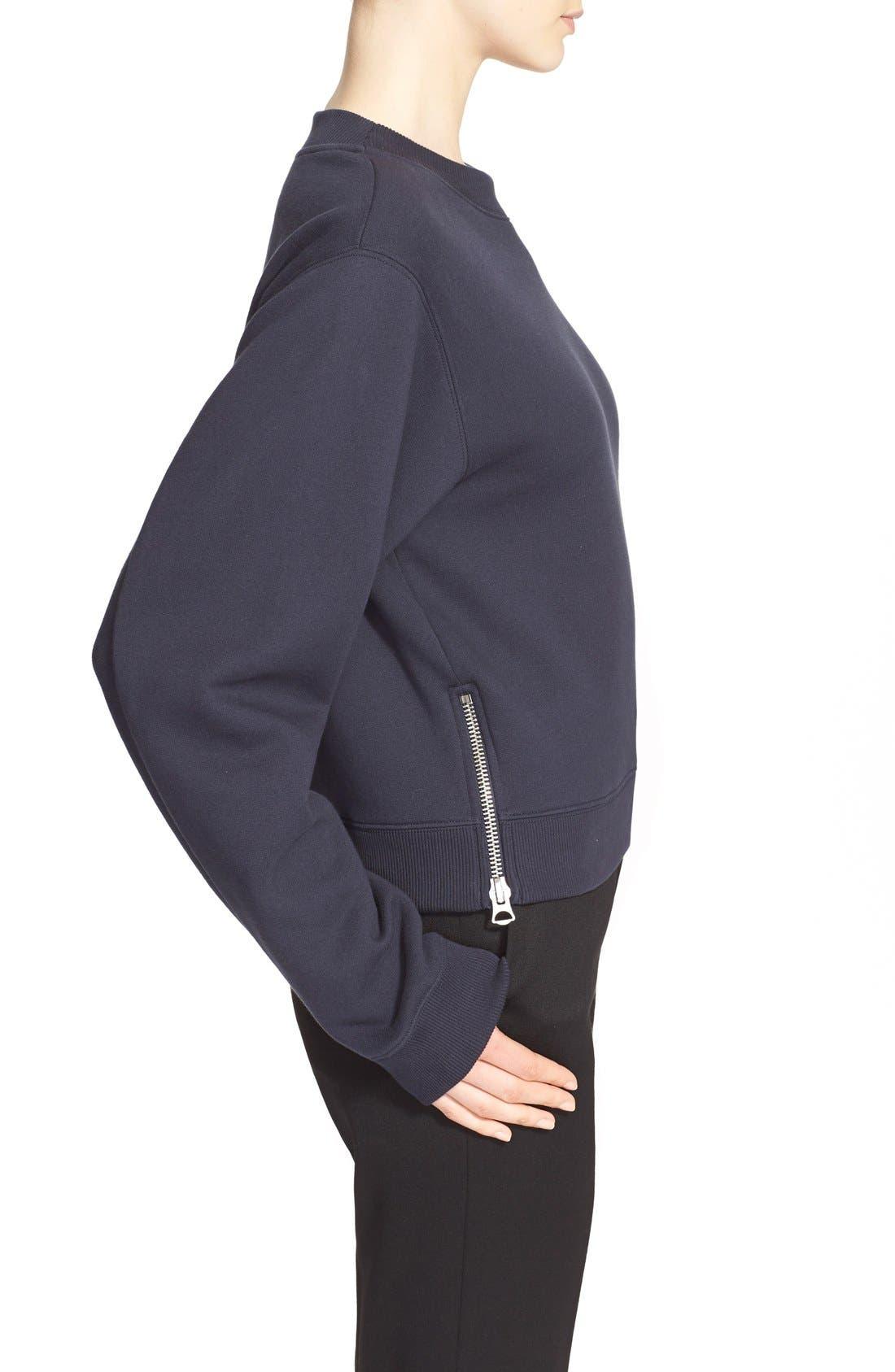 Alternate Image 5  - ACNE Studios 'Bird FL' Crop Sweatshirt