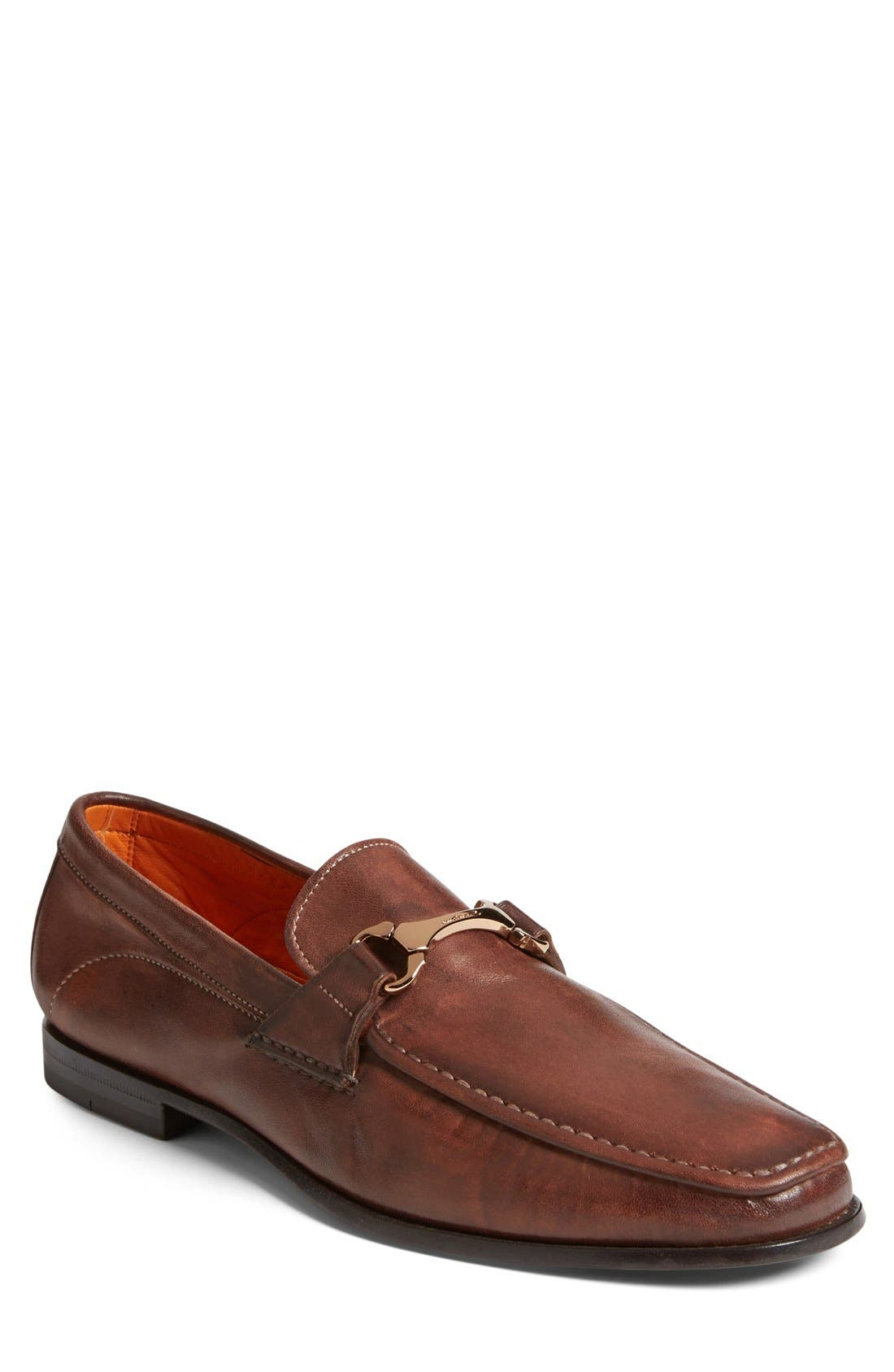 Alternate Image 1 Selected - Santoni 'Wake' Bit Loafer (Men)