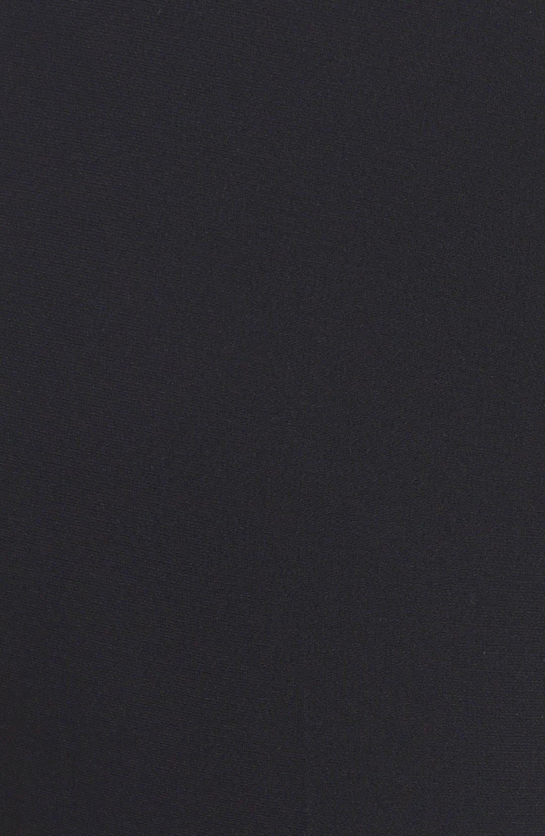 Straight Leg Suit Pants,                             Alternate thumbnail 3, color,                             Black